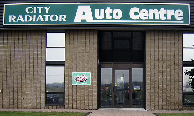 Devanture de City Radiator Auto Centre